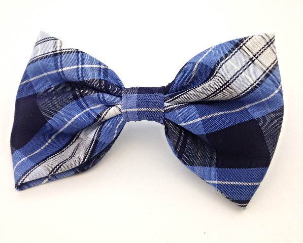 Plaid #76 Large Bow