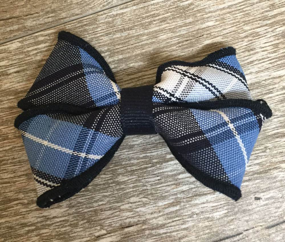 Plaid #76 Small Basic Bow