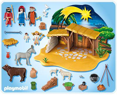 playmobil nativity set. Black Bedroom Furniture Sets. Home Design Ideas