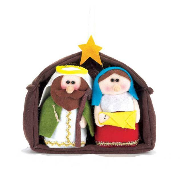 Plush Holy Family Set
