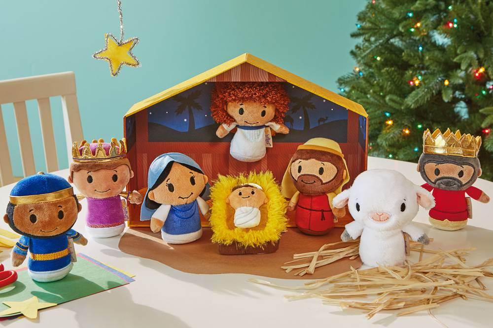 Itty Bittys Plush Nativity Set