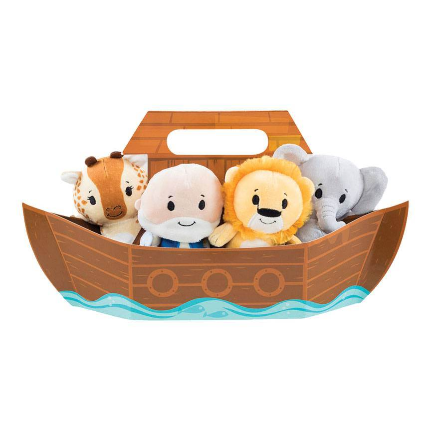 Noah's Ark Plush Set
