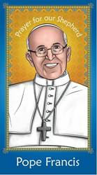 Pope Francis Holy Card for Children