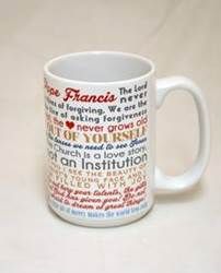 Pope Francis Quote Mug