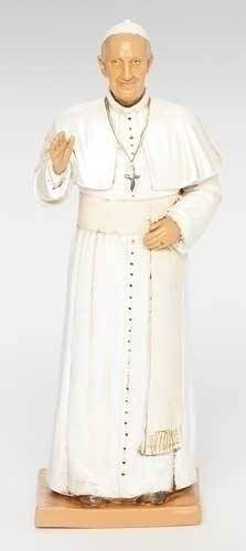 Pope Francis Statue