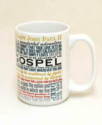 Pope John Paul II Saint Quote Mug