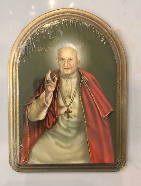 Pope John XXIII Plaque from Italy