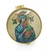 Our Lady of Perpetual Help Porcelain Rosary Box