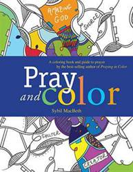 Pray and Color, Adult Coloring Book