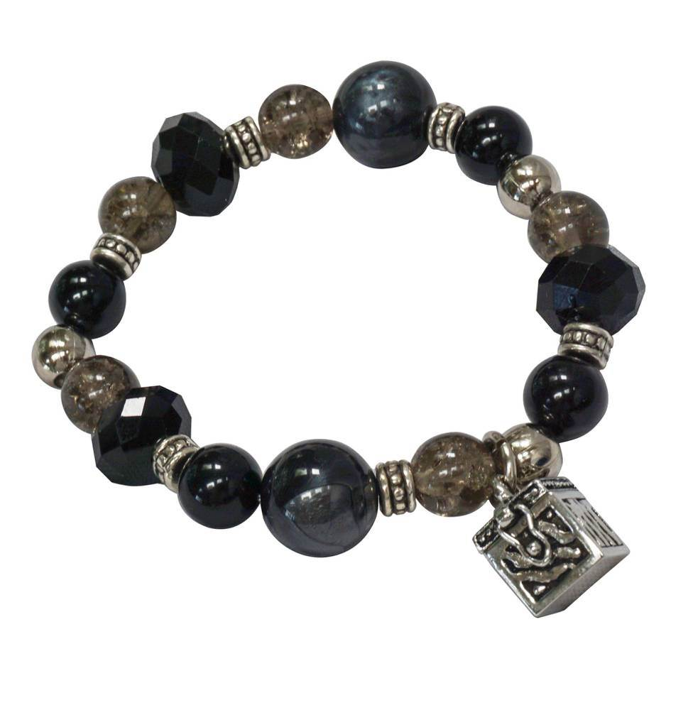 Prayer box stretch bracelet