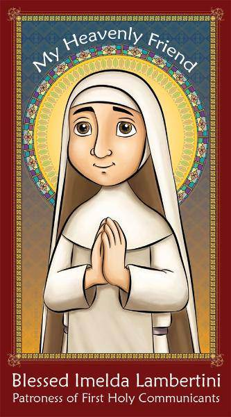 Prayer Card: Blessed Imelda Lambertini