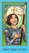 Prayer Card: St. Joan Of Arc