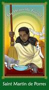 Prayer Card: St Martin De Porres