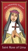 Prayer Card: St Rose Of Lima