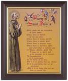 Prayer of St Francis 8 x 10 Walnut Framed Print