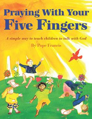 Praying With Your Five Fingers Laminated Card