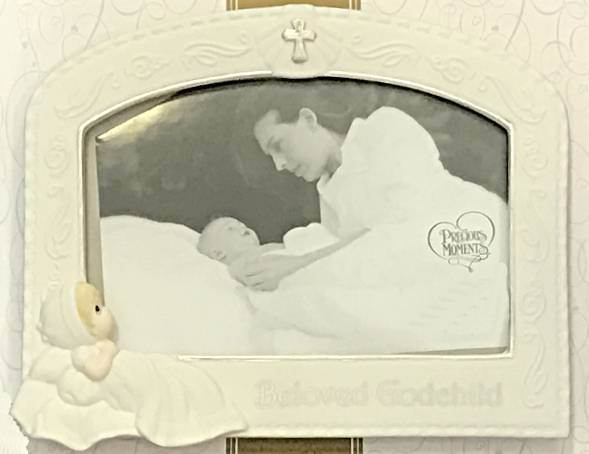 Precious Moments Beloved Godchild Frame