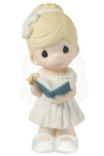 Precious Moments First Communion Girl Figure