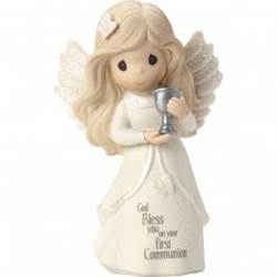 Precious Moments First Communion Girl Figurine