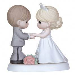 Precious Moments From This Day Forward precious moments,wedding,anniversary, girl, , porcelain figure, statue, gift,123017
