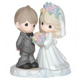 Precious Moments The Lord Bless You and Keep You precious moments,wedding,anniversary, girl, , porcelain figure, statue, gift,143013