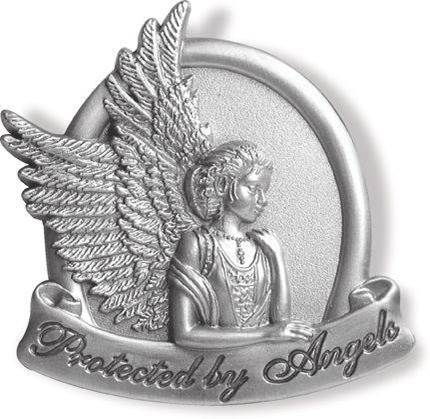 Protected by Angels Visor Clip visor clip, auto visor, car clip, guardian angel, angel item, 15726