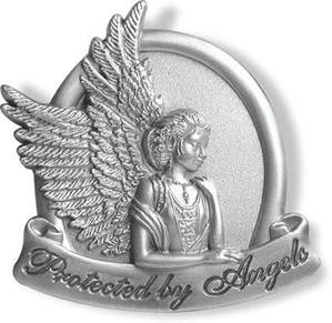 Protected by Angels Visor Clip