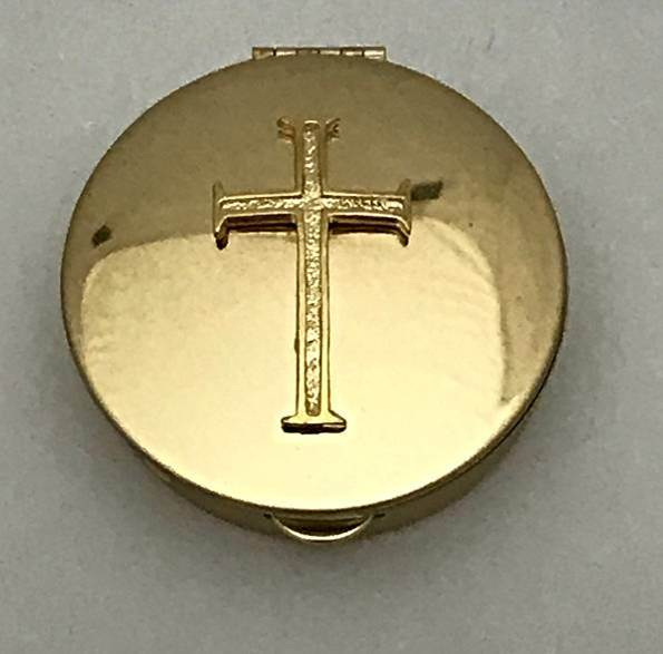 Pyx with Latin Cross