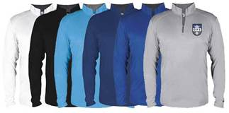 QAS Lightweight Performance Quarter Zip