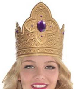 Childrens Queen Crown Costume Accessory