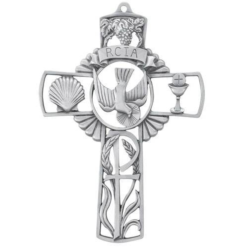 RCIA Pewter Cross
