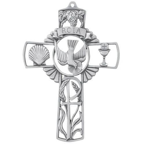 RCIA Pewter Cross