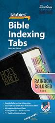 Rainbow Bible Indexing Tabs Old & New Testament Includes Catholic Books