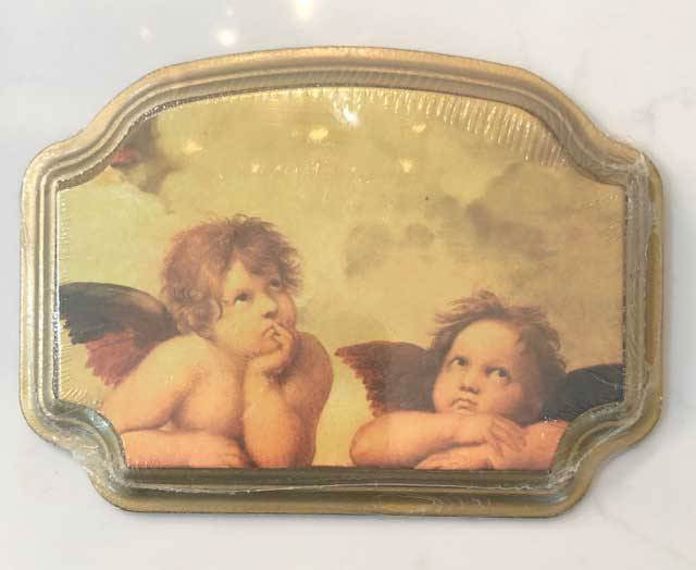 Raphael's Angels Plaque from Italy