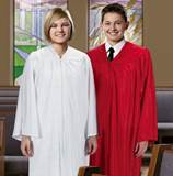 Red or White Confirmation Robes