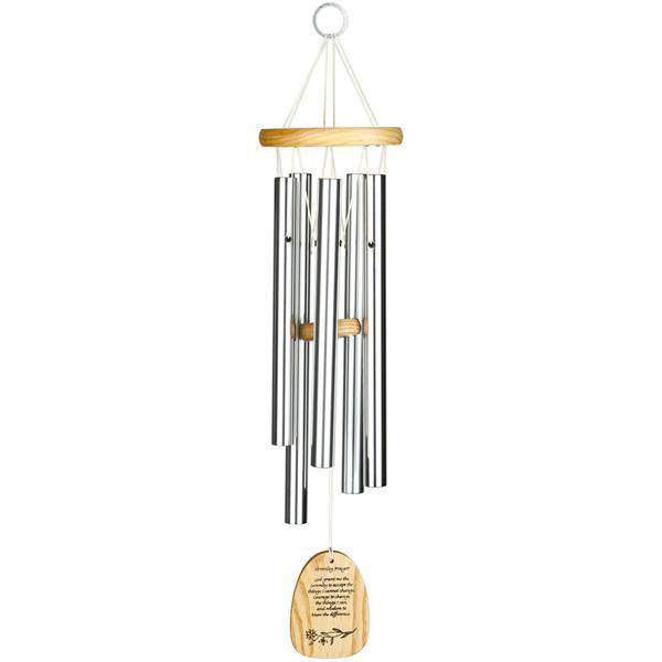 Reflections Wind Chime- Serenity Prayer wind chime, music chime, outdoor decor, gift, house warming gift, serenity prayer, 12 steps, WRSP