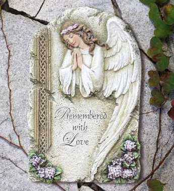 Remembered with Love Memorial Angel