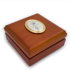 Rosewood Box w Holy Spirit