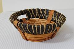 10 Inch Round Collection Basket