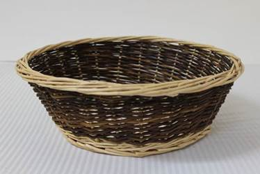 13 Inch Round Collection Basket