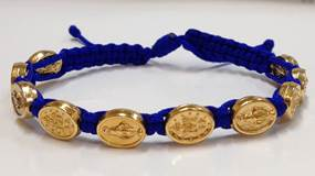 Royal Blue/Gold Miraculous Bracelet