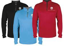 SJM Lightweight Performance Quarter Zip