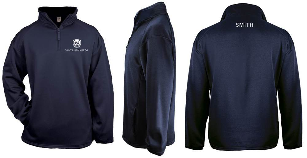 SJM Performance Fleece Quarter Zip