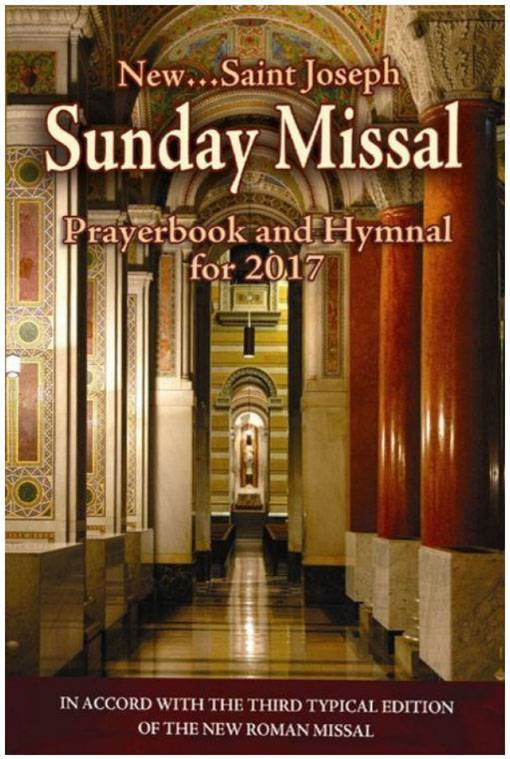 ST. JOSEPH ANNUAL SUNDAY MISSAL guide, book guide, liturgy of the hours guide, st joseph guide,paperback, annual sunday missal, missal book, prayer book, 978-1-93-791369-4,9781937913694