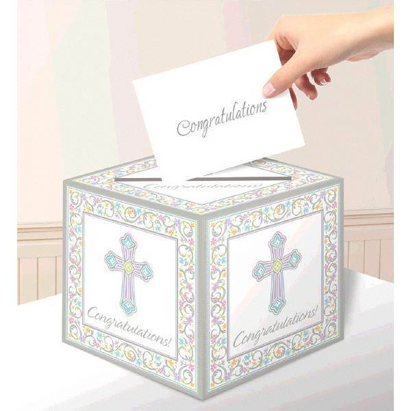 Sacramental Card Holder Box