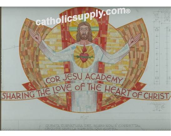 Sacred Heart of Jesus Mosaic