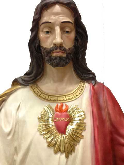 "75"" Sacred Heart of Jesus Statue *WHILE SUPPLIES LAST*"