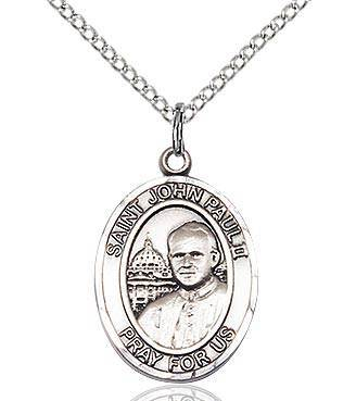 Saint John paul II Sterling Silver