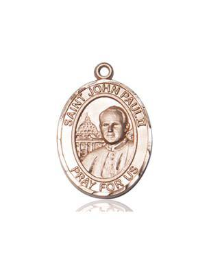 Saint John Paul II Solid Gold