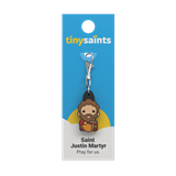 Saint Justin Martyr Tiny Saints Charm